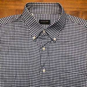 Lanvin Men's Button Down Shirt - Sz 16.5
